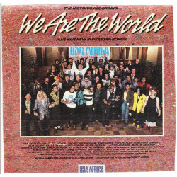 USA FOR AFRICA (MICHAEL JACKSON AND MORE) - WE ARE THE WORLD